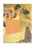The Blessed Escapes from the Convent and Crosses the River Lamone Giclee Print