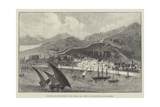 Salonica, on the Shores of the Aegean Sea, Scene of the Recent Conflagration Giclée-tryk
