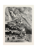 Montenegro: the Road Leading from Cattaro to Cettinge, 1880 1881 Giclee Print