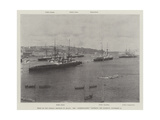 Visit of the German Emperor to Malta, the Hohenzollern Entering the Harbour, 15 November Giclee Print