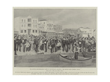 The British Mediterranean Fleet in the Levant, Salonica, the Return from General Leave Giclee Print