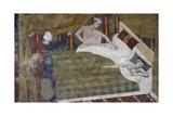 Bridal Chamber, Circaa 1320, Fresco by Memmo Di Filippuccio (Active 1288-1324) Gicléetryck