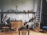 Inside Paul Cezanne's Workshop (1839-1906), Aix-En-Provence, Provence-Alpes-Cote D'Azur, France Reproduction procédé giclée