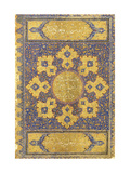 A Large Qur'An, Safavid Shiraz or Deccan, 16th Century (Manuscript on Buff Paper) Lámina giclée