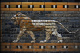 Babylon's Lion. Lion Decorated the Processional Wal (Ishtar Gate). 575 BC Fotografie-Druck