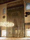 Turkey. Bursa. Yesil Mosque. Ottoman Style. Architect, Hac IVaz Pasha, 15th Century. Mihrab Lámina fotográfica