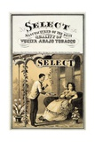 Advertisement for Vuelta Abajo Tobacco, Pub. 1870 Giclee Print