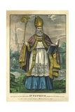 St Patrick, Pub. Currier and Ives, C.1860 Giclee Print