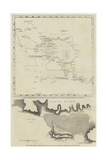 Maps of the Discoveries Made During the Arctic Expedition Giclée-Druck
