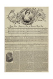 Swedish Song, Composed and Sung by Mademoiselle Jenny Lind Lámina giclée