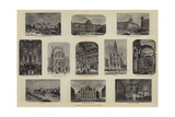 Paris Illustrated Giclee Print