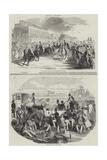 Ascot Races Giclee Print