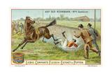 At the Racecourse: Fallen Giclee Print