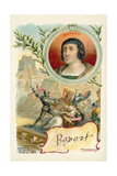 Bayard Defending the Bridge of Garigliano on His Own, 1503 Giclee-trykk