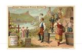 Wine: Rhine Wine Lámina giclée