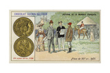 Gold 20 Franc Piece, 1905 Giclee Print