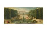 The Arc De Triomphe at Versailles Giclee Print