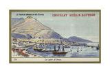 The Port of Oran Giclée-tryk
