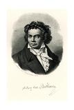 Ludwig Van Beethoven, 1884-90 Giclee Print
