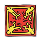 Untitled Pop Art Gicléedruk van Keith Haring