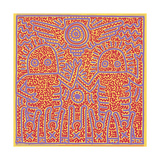 Untitled Pop Art ジクレープリント : キース・ヘリング