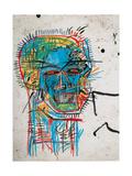 Zonder titel Gicléedruk van Jean-Michel Basquiat