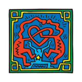 Untitled Pop Art Stampa giclée di Keith Haring