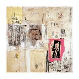 Big Shoes 2 Giclée-tryk af Jean-Michel Basquiat