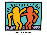 Untitled Pop Art Gicléedruk van Keith Haring