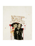 We Have Decided the Bullet Must Have Been Going Very Fast Giclée-Druck von Jean-Michel Basquiat