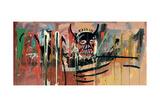Untitled (Devil) Giclée-tryk af Jean-Michel Basquiat
