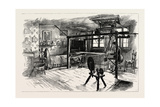 A Spitalfields Weaver at Work, UK Reproduction procédé giclée