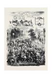 Epsom Races, the Road Giclee Print