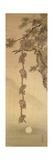 Monkeys Reaching for the Moon, Edo Period (1603-1867) Lámina giclée