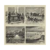 The Inundations Round Paris Giclee Print