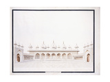 The Moti Musjid in the Fort of Agra, C. 1815 Giclée-vedos