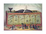 19th Century Circus Aquarium, 1873 Giclée-Druck
