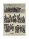The Burmese Frontier Difficulty, Types of the Native Tribes Giclee Print