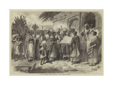 The Abyssinian Church Festival of Palm Sunday Giclée-tryk