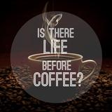 Quote on Coffee Photo Background Valokuvavedos tekijänä Ivan Kruk