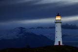 Cape Egmont Lighthouse, New Zealand Fotografisk tryk af Dmitry Pichugin
