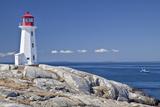 Peggy's Cove Lighthouse, Nova Scotia, Canada. Reproduction photographique par  onepony