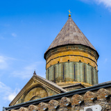 Svetitskhoveli Cathedral (Living Pillar Cathedral), a Georgian Orthodox Cathedral Located in the Hi Photographic Print by  siempreverde22