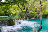 Plitvice Lakes National Park, the Largest National Park in Croatia, UNESCO World Heritage Photographic Print by  siempreverde22