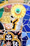 Barcelona Mosaic Photographic Print by  Tupungato