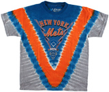 Youth: MLB - Mets  Tie Dye Logo Shirts