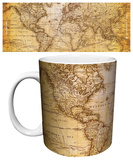 World Map - Antique Mug Mug