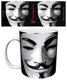V For Vendetta - Mask Mug Mug