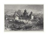 The Kali Ghaut, Calcutta Impressão giclée