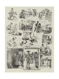 Dr Syntax in Ceylon Giclee Print